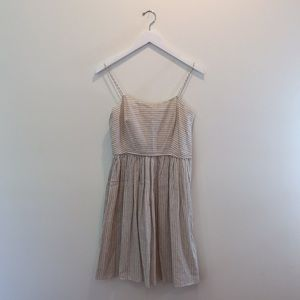 J. Crew | Striped Linen Dress